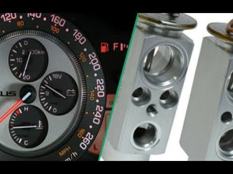 Gauge Cluster Fix And Expansion Valve Replacement Easy On Is300 (01-05)