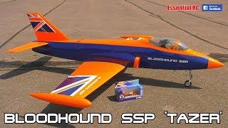 BLOODHOUND SSP 'TAZER' RC SPORT JET (Supersonic Plane) World's Fastest Car – 1000mph Bloodhound SSC
