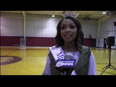 Miss MS Visiting Clarkdale Middle School