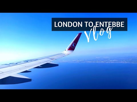 EP2 | London To Entebbe + Turkish Airlines | Uganda Vlog Series || Sydney's Travels