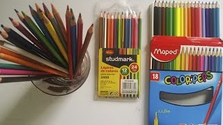 Materiales De Dibujo | Lapices Escolares | Arte | CREANDO PERSONAJES EN VIVO | ArtQuit Draw