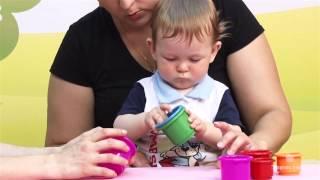 Презентация диска для домашнего обучения детей от 6 месяцев до 1 года