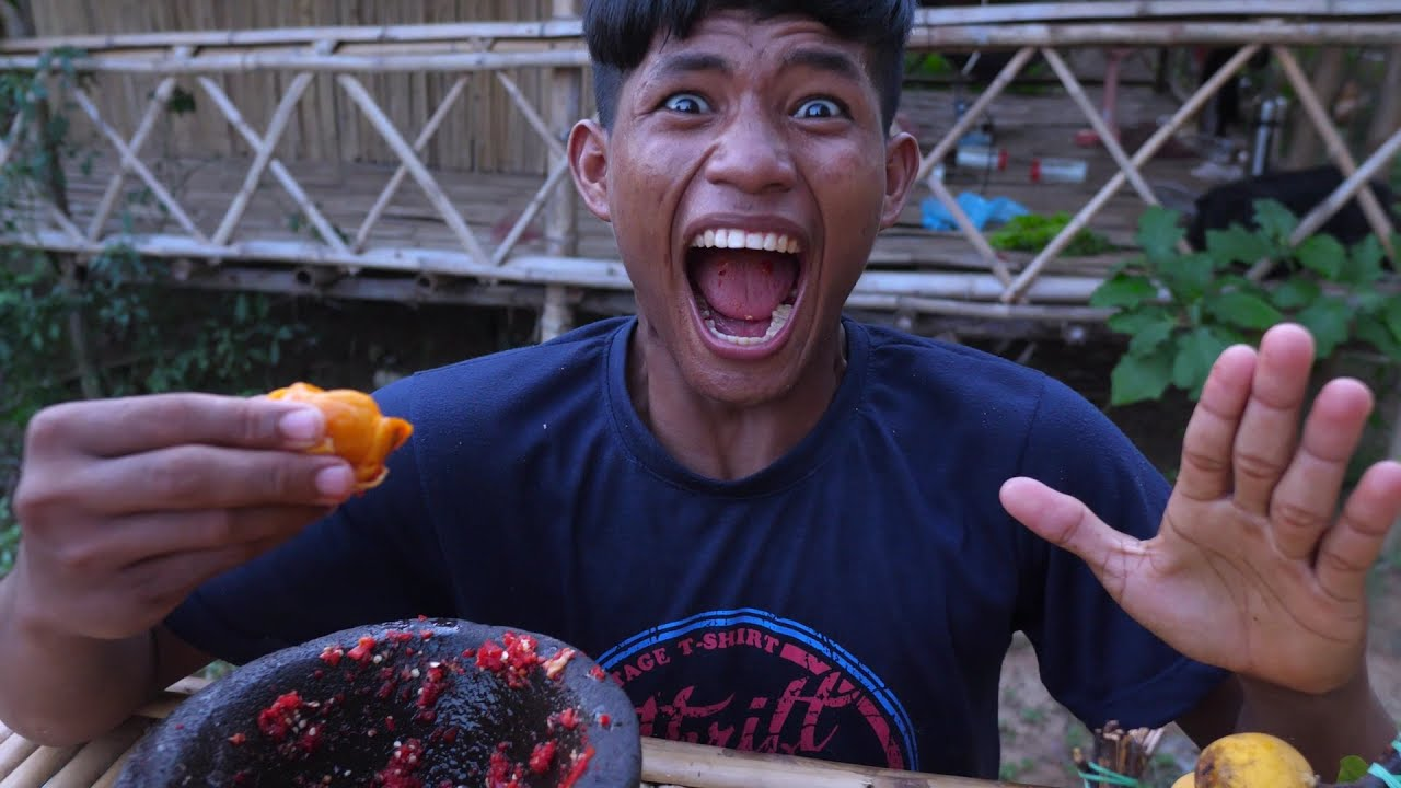 Let's Eat Willughbeia Fruits With me Very Delicious