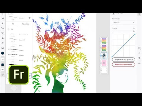 Adobe's Fresco Is an iPad Painting App for Professionals