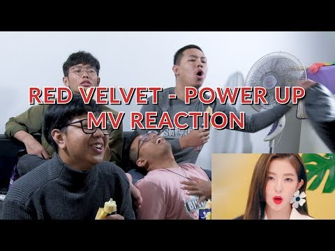 """VISUAL LEVEL MAAAAAAAX"" | RED VELVET - POWER UP MV REACTION"