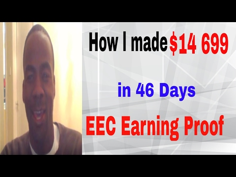 EEC Proof|| How l made $14 699 in 46 days