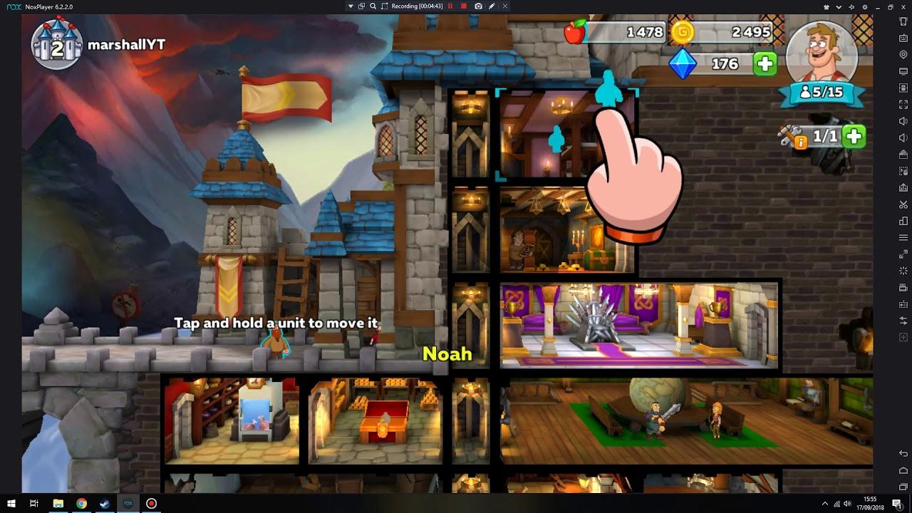 MOD APK Hustle Castle: Fantasy Kingdom v1 5 8 - Premium Membership Enabled,  Speed Hack & moreUpdated