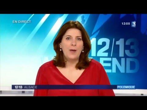 ABCDE 67 sur JT 12h France3-Alsace