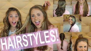 MY FAVORITE HAIR STYLES 2018!  Rosie McClelland