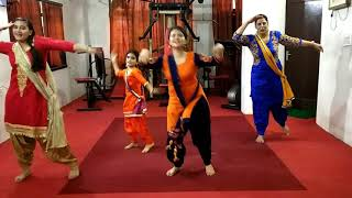 Laung Laachi Group Performances Samta Ladies Gym.