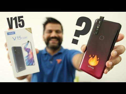 Vivo V15 Unboxing & First Look - 32MP Pop Up Selfie + Helio P70🔥🔥🔥