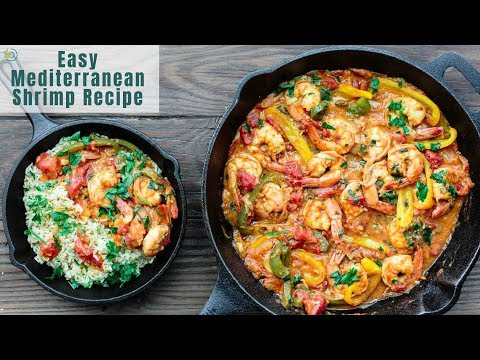 Easy Mediterranean Shrimp Recipe! The Perfect Dinner In Minutes