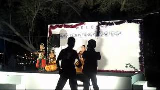 Classical Dance - Junior Group (Pushpanjali) Performed at AL MAHA 2013
