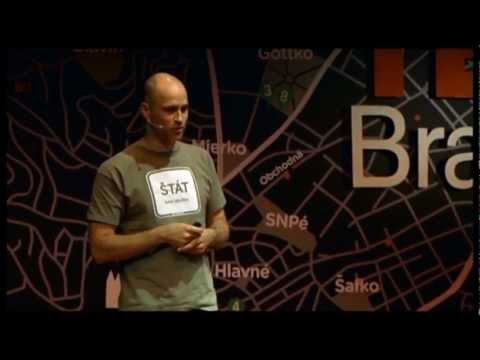 Free Diving vs. the Euro crisis: Juraj Karpis at TEDxBratislava