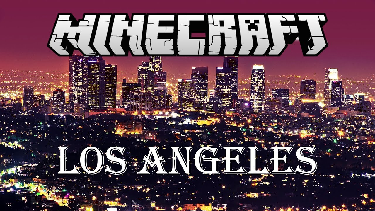 Minecraft Awesome Los Angeles Map Free Download YouTube - Los angeles map download