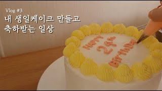Vlog | 빅5 신규간호사 | 압력밥솥으로 내 생일케…