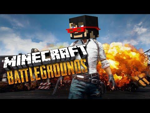 Minecraft: BATTLE ROYALE (Hunger Games + PUBG)