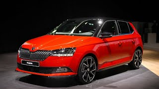2018 All-new Skoda Fabia Facelift Interior and Exterior First Look !!