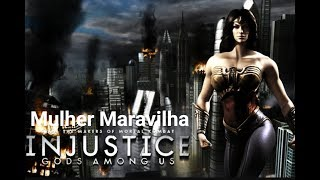 Injustice Gods Among Us - Modo História: Mulher Maravilha - Playthrough (Pc Gameplay PT-BR)