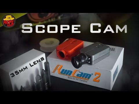 Como hacer una SCOPE CAM   How to Make/DIY   RunCam 2 Tutorial   Mope Airsoft España