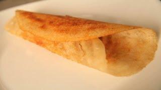 Dosa (rice Crispy Crepe) By Shweta