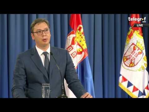 Vučić: Ana Brnabić dobila mandat za sastav vlade