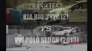 Краш тест KIA RIO и VW POLO sedan(Краш тест KIA RIO и VW POLO sedan., 2016-11-20T19:24:07.000Z)