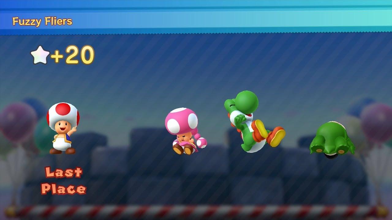Mario Party 10 Mario Party #183 Toad vs Toadette vs Yoshi ...