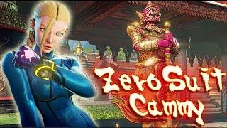 Street Fighter V PC mods - Zero Suit Cammy by KhaledAntar666 by PC