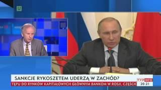 Minęła dwudziesta - Kołodko: sankcje na Rosję będą miały konsekwencje