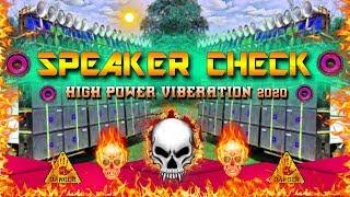 Speaker Cheack Viberation 2020 💪💪 High Power Viberation Mix ❤️ By Dj Manish Dhanbad