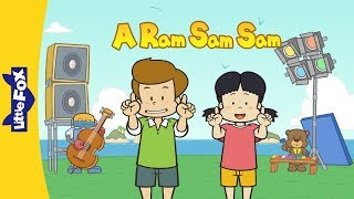 A Ram Sam Sam | Song for Kids by Little Fox