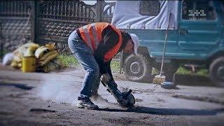 Жителі села Колонщина самотужки ремонтують дороги