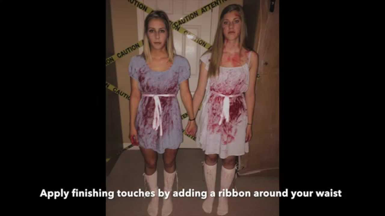the grady twins the shining halloween costume youtube - The Shining Halloween