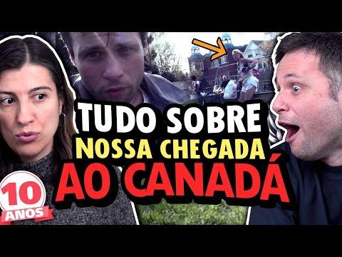 REAGINDO À NOSSA CHEGADA AO CANADÁ EM 2009 - 10 ANOS DE CANAL REACT #3