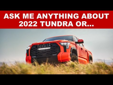 ASK ME ANYTHING: ABOUT CARS, TRUCKS, AND AUTO INDUSTRY - Not Necessarily about 2022 Toyota Tundra!