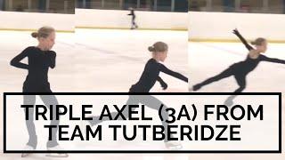 TRIPLE AXEL 3A From TEAM TUTBERIDZE Lyuba Rubtsova 11 TeamTutberidze