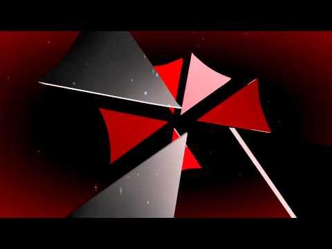 Resident Evil Umbrella 3D Logo Intro  Free Template 1080p