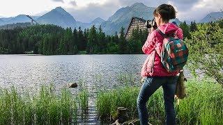 Словакия: ночевка в кемпинге, озеро Любви и Штрбске-Плесо