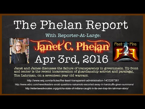 The Phelan Report for Apr 3rd  2016