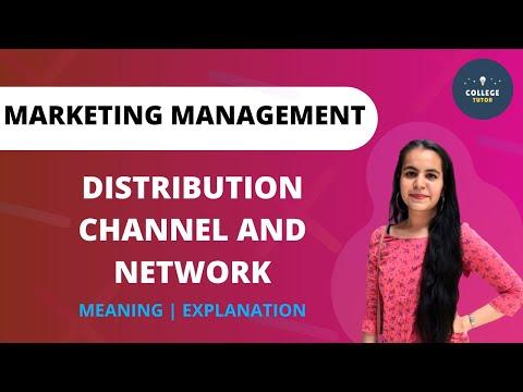 Distribution Channels | Distribution Meaning | Marketing Management