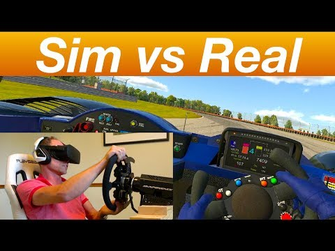 Direct Comparison IRacing Simulator To Real Racing