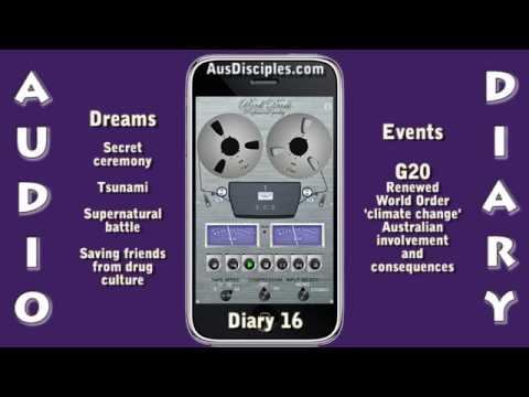 Secret ceremony, battle, tsunami, G20 NWO - Diary of a Disciple - Diary 16