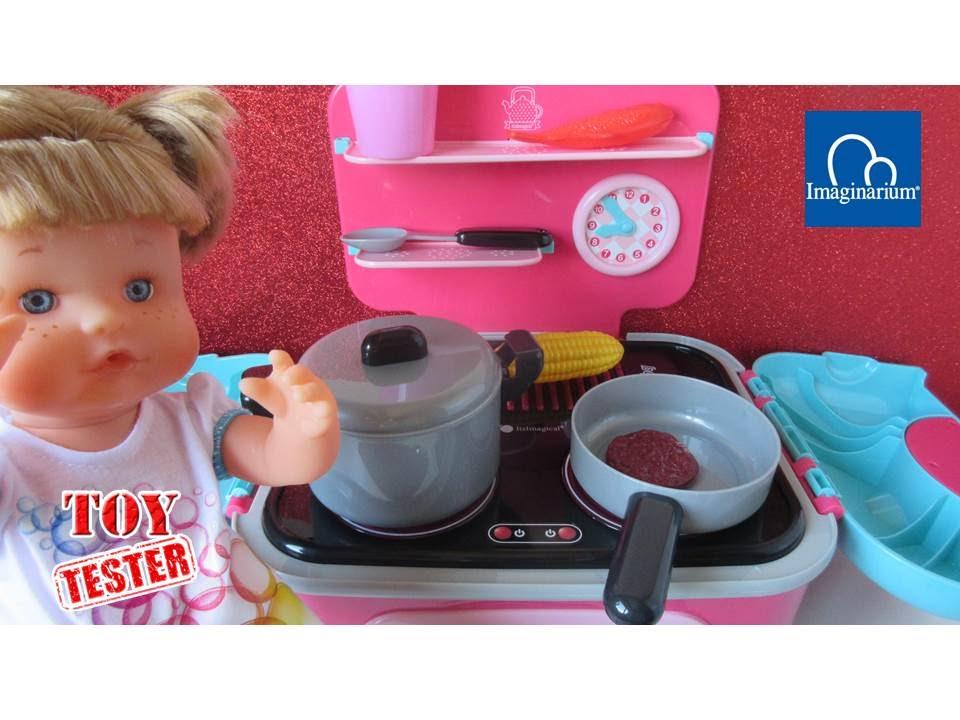 Beb nenuco y la cocina grand chef chup chup spring de imaginarium unboxing cocina de juguete - Cocina de nenuco ...