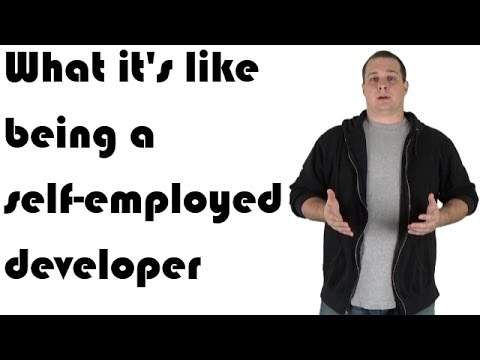 What it's like being a self-employed developer