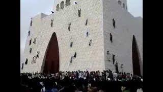 Funny Pakistani peoples  Climbing on Quaid-e-Azam Tomb