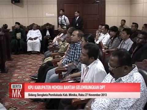 [video]KPU Kab. Mimika: Penundaan Tahapan Pemilukada Tindak Lanjut Putusan PTUN