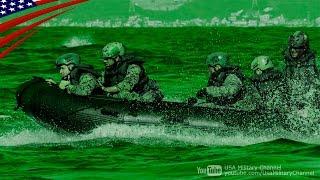 米海兵隊の戦闘ボート(CRRC)での夜間ビーチ強襲上陸訓練:沖縄 thumbnail