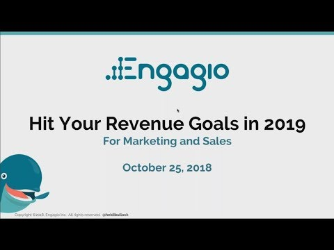 Webinar   Hit Your Revenue Goals in 2019 with Account Based Marketing