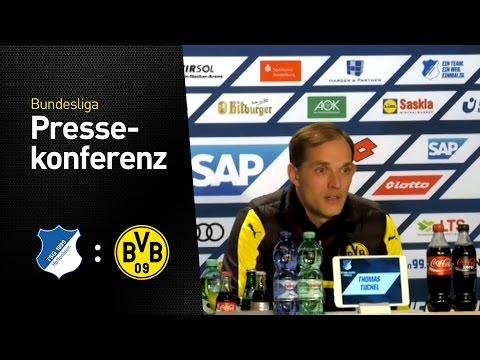 Pressekonferenz mit Thomas Tuchel | TSG Hoffenheim - BVB 2:2